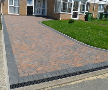 Driveline block paving Southampton Hampshire 360x301