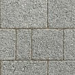 Argent light block paving