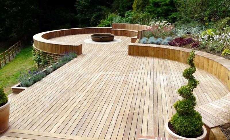 Timber Decking for Landscapes