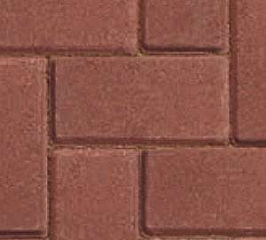 driveline 50 red block paving